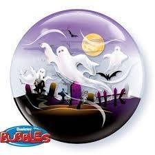 "Bubble Spooky Ghosts 22"" (56cm)"