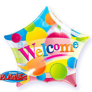"Bubbles 22"" stella Welcome"