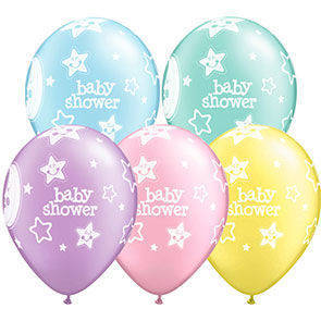 "Palloncini 12"" Baby Shower stelle"