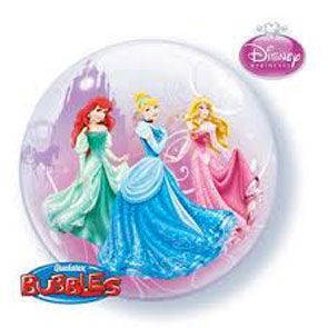 "Pallone Bubbles 22"" Princess"