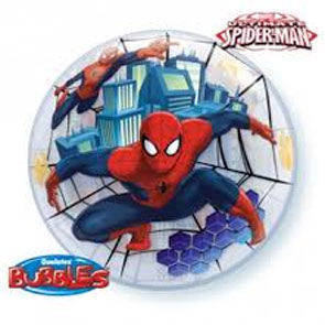 "Bubbles 22"" Spiderman"