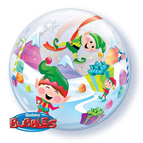 "Bubbles 22"" Merry Elves"