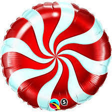 "Pallone mylar Candy 18"" Rosso"