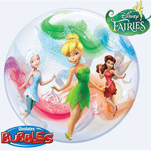 "Pallone Bubbles 22"" Disney Fairies"