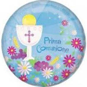 """Pallone in mylar 18"""" Prima Comunione Bimbo"""