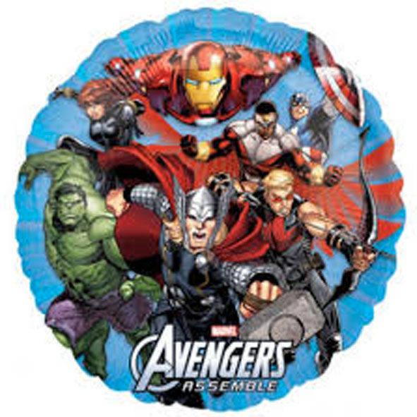 Pallone mylar Avengers 45 cm