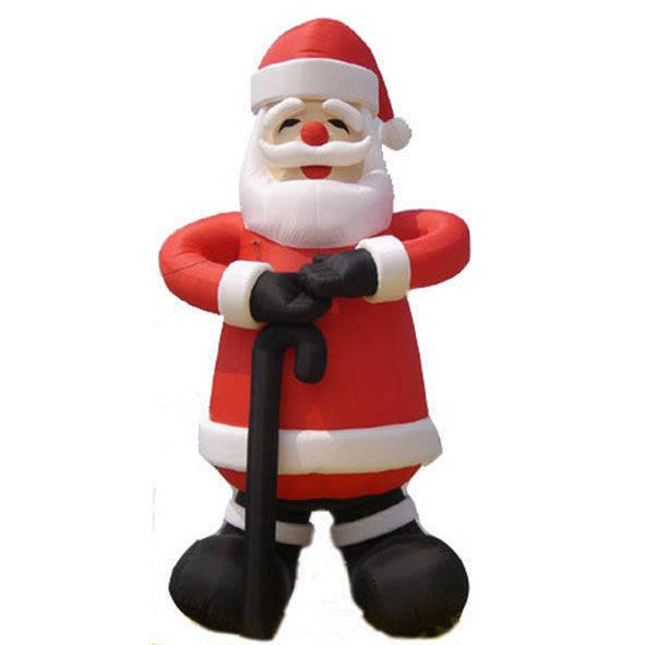 Babbo Natale gonfiabile altezza 3 mt