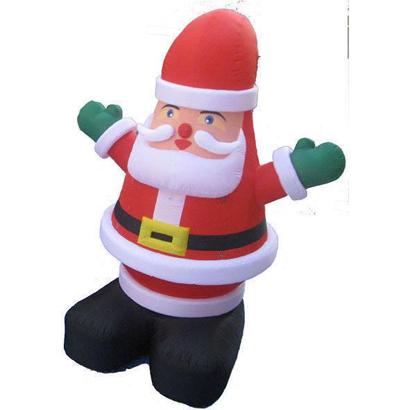 Babbo Natale gonfiabile altezza 5 mt