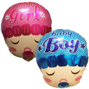 "Pallone Mylar18"" Baby Boy/Girl"