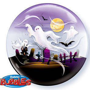 "Bubbles 22"" Spooky Ghosts"