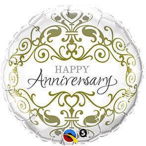 """Bubbles 22"""" Happy Anniversary"""
