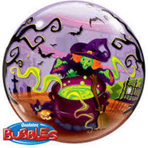 "Bubbles 22"" Flying Witch's Spooky Brew"
