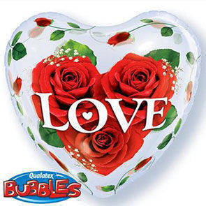 "Bubbles 22"" Cuore Love"