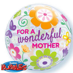"Bubbles 22"" Wonderful Mother"