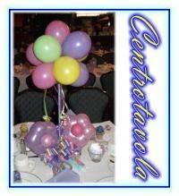 Centrotavola a fiori di palloncini grappolo