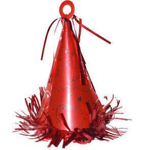 Peso a cono con anello per palloncini 150 grammi