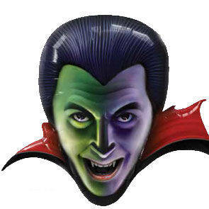 "Pallone mylar Count Dracula 36"""
