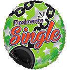 """Pallone mylar 18"""" Finalmente Single"""