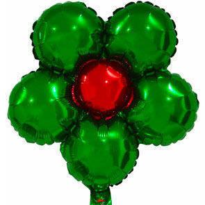 """Pallone mylar Fiore 18"""" confezione da 5 Pz. Disponibile in 8 colori a scelta."""