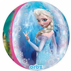Pallone Mylar Frozen Orbz 3D 40 cm