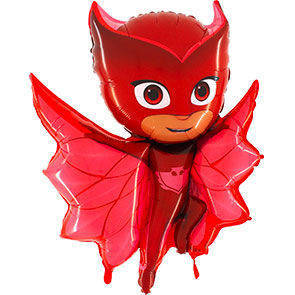 Pallone mylar supershape PJ Masks Gufetta
