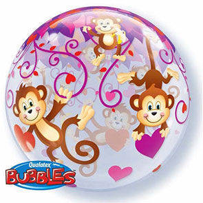 "Bubbles 22"" Love Monkeys"