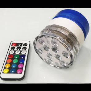 Megaled Valvola per palloni a 10 Led con telecomando