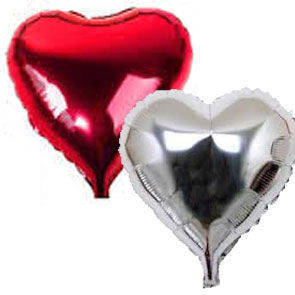 "Pallone in mylar mini shape Cuore 7,5"" (19cm)"