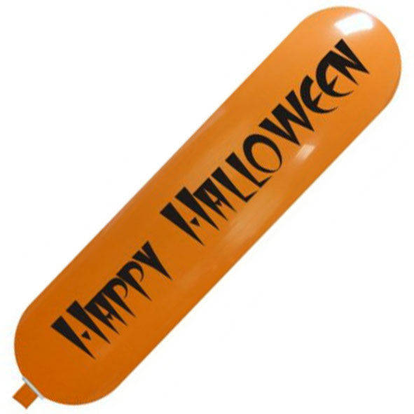 "Pallone banner gigante ""Happy Halloween"" 170cm"