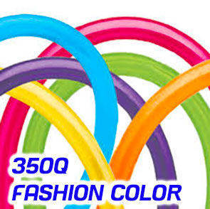 Palloncini modellabili Qualatex 350Q Fashion Colors busta da 100 Pz.