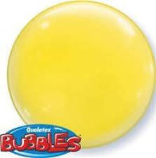 "Bubbles 15"" solid color Giallo"