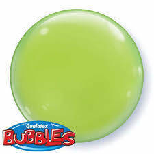 "Bubbles 15"" solid color Verde"