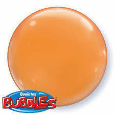 "Bubbles 15"" solid color Arancione"