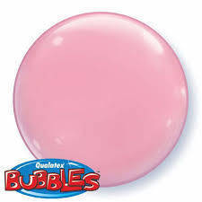 "Bubbles 15"" solid color Rosa"