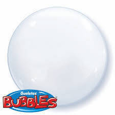 "Bubbles 15"" solid color Bianco"