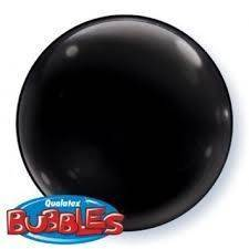"Bubbles 15"" solid color Nero"