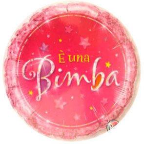 """Pallone Mylar 18"""" E' una Bimba"""