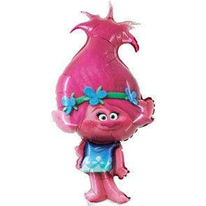 Pallone Mylar Trolls Poppy supershape